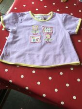 Pretty Lilac Age 2-3 Girls T Shirt From Gymboree
