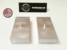 "[SR] Sierra 2500 HD / Tundra / Silverado 1500  1"" Billet Rear Lift Blocks Kit"