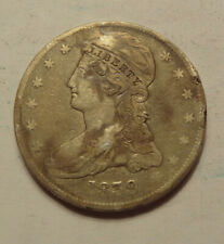 1839 BUST HALF DOLLAR ,  VF CONDITION