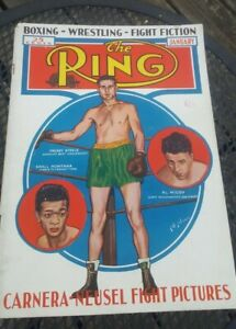 The Ring Boxing Magazine: January 1936. Freddy Steele, Al McCoy, Small Montana.