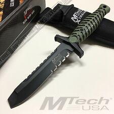 KNIFE COLTELLO DA CACCIA MTECH-8089 SURVIVOR SOPRAVVIVENZA SURVIVAL STILE RAMBO
