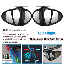 Pair Car 360° Auxiliary Rearview Mirror Blind Spot Remove Safe Parking Universal
