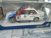 BMW M3 E30 DTM 1989 #15 Ravaglia Warsteiner M-Team Schnitzer NEW! Solido 1:18