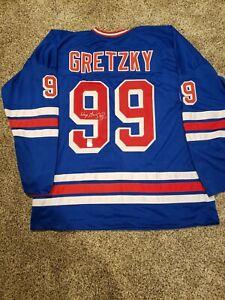 Wayne Gretzky Signed New York Rangers Jersey (WGA)