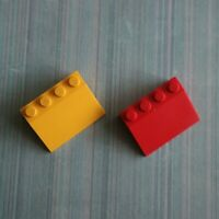 LEGO - Used Condition - 3x4 Mudguard (2513) x 2
