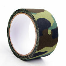 Camouflage Patterned Tape Woodland Camo No-Mar Gun&Bow For Hunting Hunters