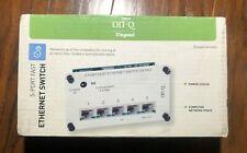 ON-Q Legrand 5 Port Fast Ethernet Switch DA1002