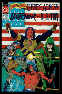 The Brave and the Bold #1 (December 1991) Green Arrow; The Butcher; The Question