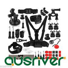 45in1 Accessories Ultimate Combo Kit for GoPro HERO4/3+/3/2/1 SJ4000/5000 Dazzne