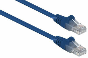 20M Blue RJ45 Ethernet CAT 5e Network Round Cable Internet LAN Patch Router Lead