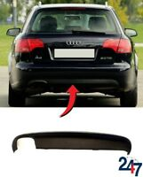 NEW AUDI A4 B7 AVANT 2005 - 2008 REAR BUMPER LOWER SPOILER WITH EXHAUST HOLE