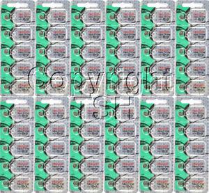 Maxell 364 SR621SW SR621 28034 LR621 AG1 Battery 0% MERCURY ( 60 PC )