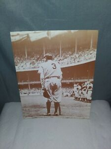 Babe Ruth 11 X 14 SEPIA PHOTO PRINT