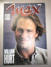 MAX # Mensile di Cultura - Anno III - N.5 # Maggio 1987 - Rizzoli # William Hurt
