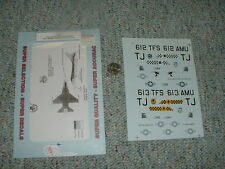 Superscale decals 1/32 32-97 F-16C Falcons Sq CO 612 613 TFS 401 TFW   G57