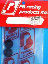 PB Racing Sizzler Rear Shock Spring Bague de retenue Plaque (2) 32/221 modélisme