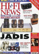 Hi-Fi News June 1998 -JADIS- DNM Reson, Sunfire & Rel