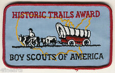 BOY SCOUTS Patch -  Historic Trails Award
