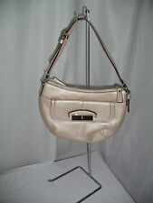 COACH KRISTIN METALLIC LEATHER TOP HANDLE PURSE 47377  AUTHENTIC NEW WITH TAGS