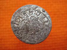 Old Coin Lithuania Lietuva Litauen Zygimantas Vaza Silver Solid   Nr 2905