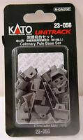 Kato 23056 N Gauge Unitrack Catenary Pole Base Set. New
