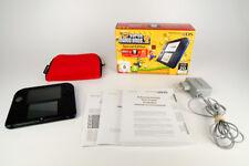 Nintendo 2DS New Super Mario Bros 2 OVP + Pokemon Rumble World + Original Tasche