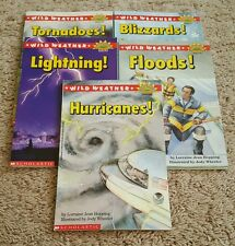 Scholastic Science Vocabulary Grades 2&3 Readers: Wild Weather 5 Pack Book Set