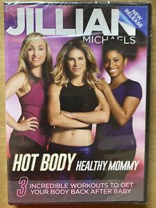 Jillian Michaels: Hot Body Healthy Mommy (DVD, 2016)