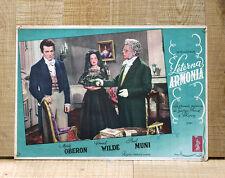 ETERNA ARMONIA poster fotobusta Muni Merle Oberon Chopin A Song to Remember F95