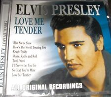 Elvis Presley Love Me Tender Import 16 Track CD New Factory Sealed Free Shipping