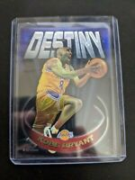 1997-98 TOPPS CHROME KOBE BRYANT DESTINY RC 2nd Year INSERT CARD #D5