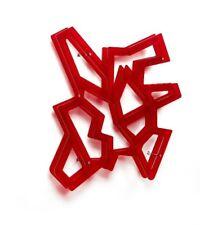 Mensola contenitore Porta CD DVD libri MACRAME' Emporium design CL 012 rossa