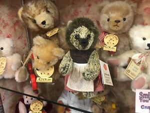 Teddy Hermann Igelmutter Hedgehog Limited Edition 3/200 - BEAR SHOP