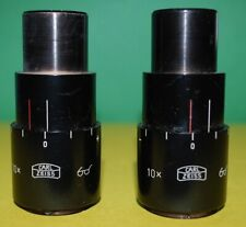 Carl Zeiss 10 X Surgical Microscope Eyepiece Set