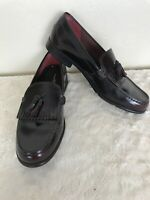Rockport Walkability Mens Leather Kiltie Tassel Loafers size 10.5 M Cordovan