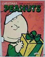 Landoll's Peanuts Christmas Super Coloring & Activity Book Charlie Brown