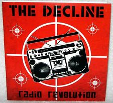 "THE DECLINE Radio Revolution 7"" EP Punk Rock BOOM BOX Stitches US BOMBS Download"
