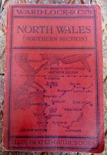 WARD LOCK & Co NORTH WALES GUIDE BOOK AND MAPS