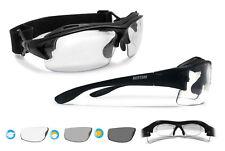 Bertoni Sport Prescription Photochromic Sunglasses Convertible to Goggles - F399