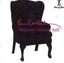 1 newspaper promo cd paul mccartney memory almost full excellent POST WORLDWIDE