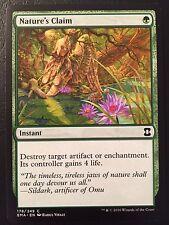 Eternal Masters Nature's Claim NM MTG Magic The Gathering