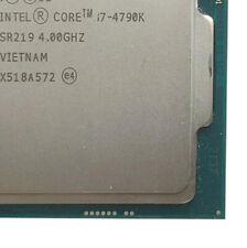 For Core i7-4790K 4.00GHz Quad-Core LGA1150 CPU Processor CPU 100% Tested