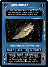 Jabba's Space Cruiser [slight wear] SPECIAL EDITION star wars ccg swccg