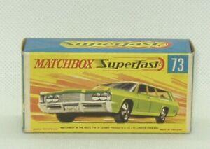 Matchbox Lesney #73 Mercury Commuter wagon Superfast Original Box Only