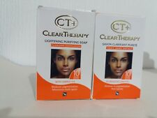 CT+ CLEAR THERAPY EXTRA WHITENING SOAP X 2 *** .£16.95 **💯%ORIGINAL