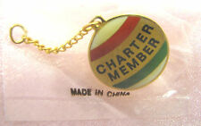 Charter Member Ornament Pin / Hallmark Local Collector Clubs Attach to Their Pin