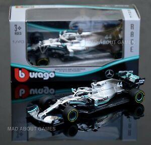 NEW LEWIS HAMILTON MERCEDES F1 1:43 Scale Toy Car Diecast Miniature Formula One