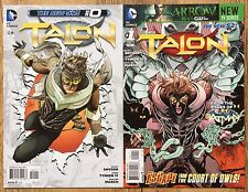 TALON #0 and #1 DC Comics New 52 First Print James Tynion IV, Scott Snyder