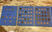 1858 to 1908 Indian head penny collection 26 pennies. 1870, 1858, 1859 included