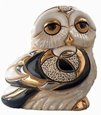 De Rosa Baby Snowy Owl Figurine NEW in Gift box - 26827